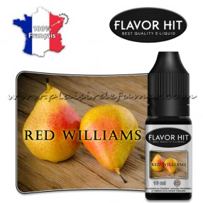Red williams - FLAVOR HIT - E-liquide 50/50