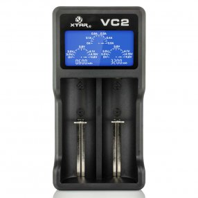 XTAR Light VC2 - Chargeur d'accu 2 slots