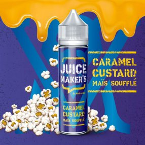 Caramel custard maïs soufflé - JUICE MAKER'S - 50ml