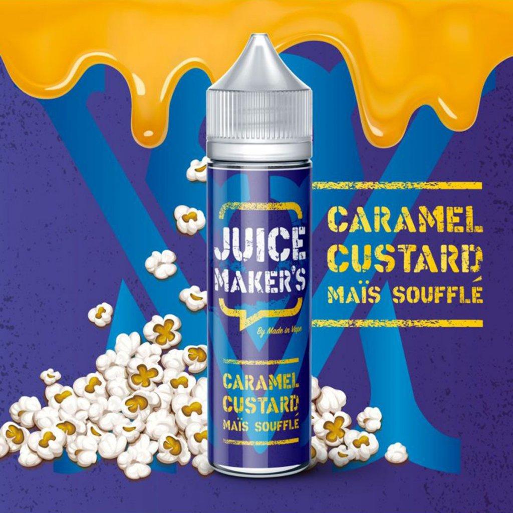 Caramel custard maïs soufflé - JUICE MAKER'S - 50ml