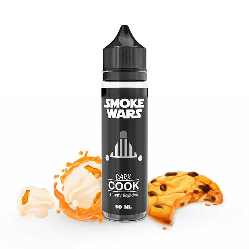Dark cook - Smoke wars - E.TASTY - 50ml