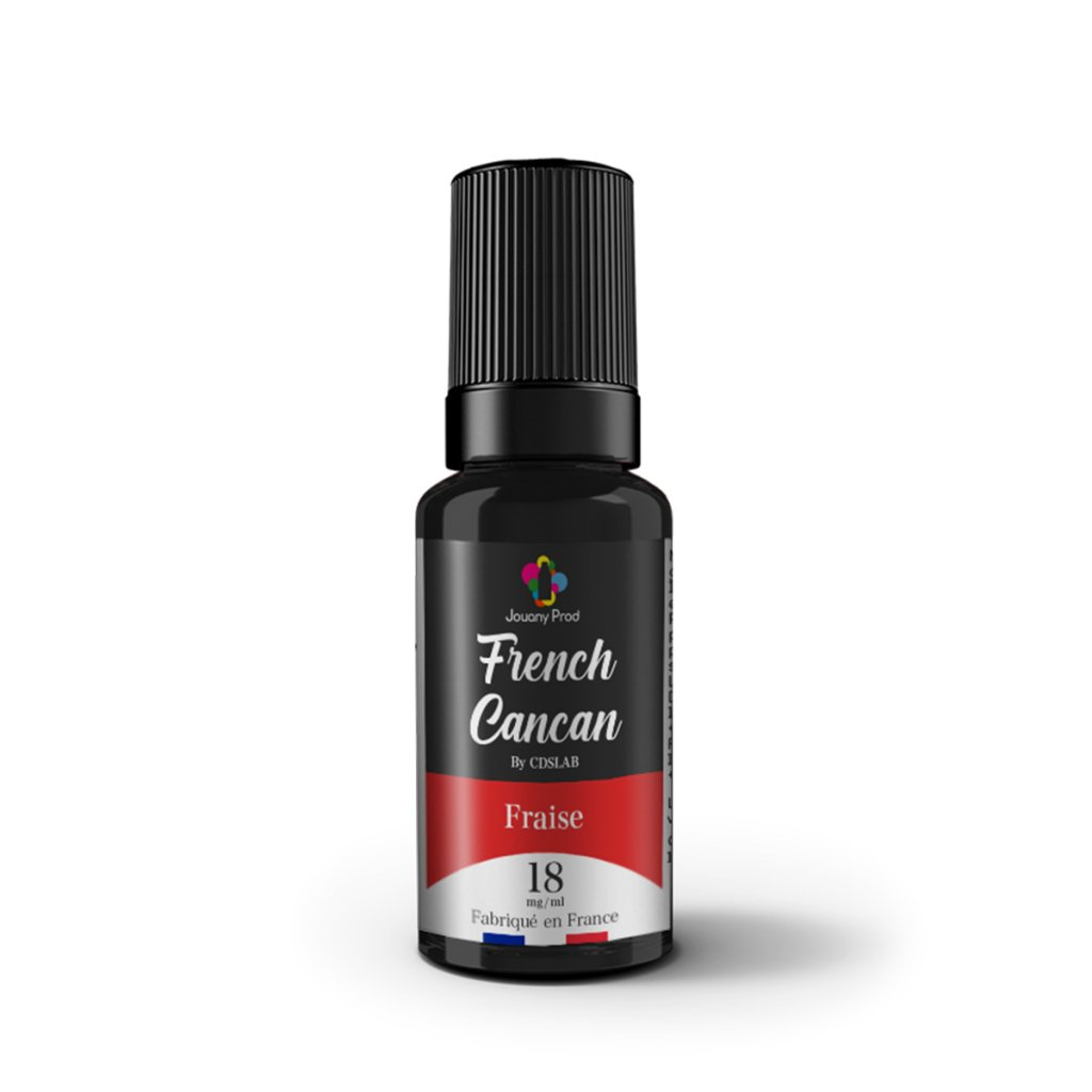 Fraise - FRENCH CANCAN - 10ml
